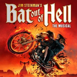 Book tickets for Bat Out Of Hell the musical in Manchester and London