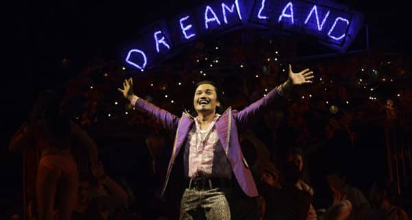 Jon Jon Briones as The Engineer in Miss Saigon