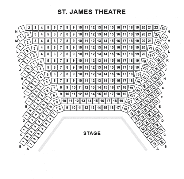 The Other Palace Theatre Seating Plan