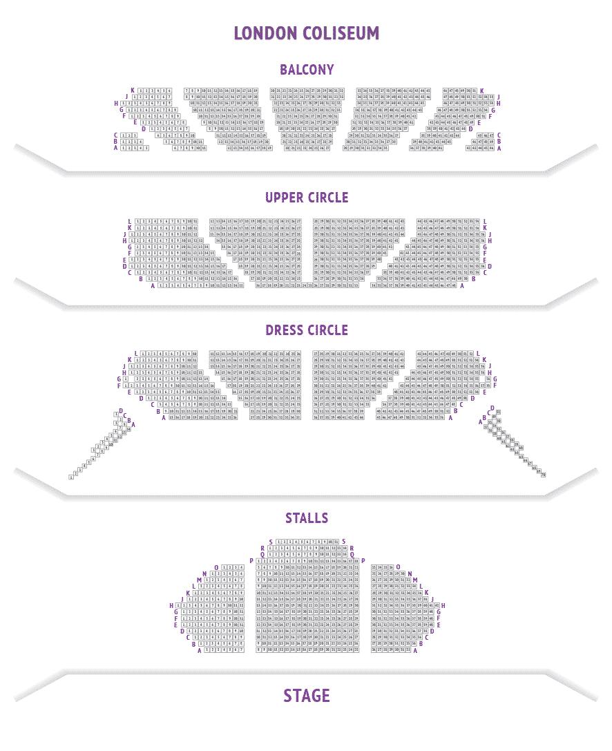 London Coliseum Seating Plan
