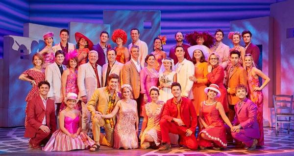 Mamma Mia! at the Novelo Theatre