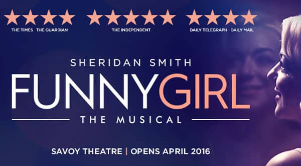 Funny Girl Tickets are On Sale through BritishTheatre.com