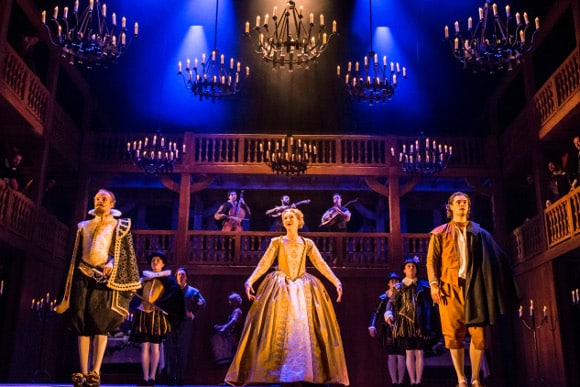 The Company of Shalespeare In Love. (C) Johan Persson