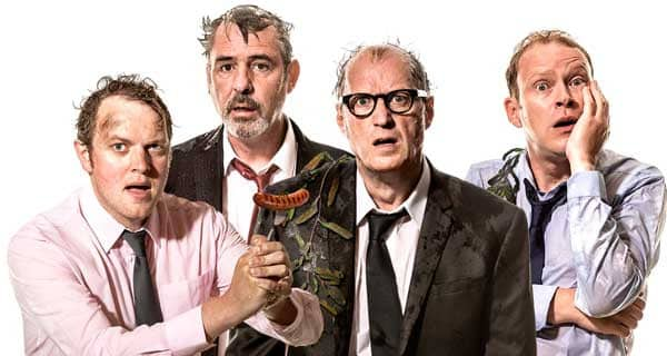 Neville's-Island.-Adrian-Edmondson,-Miles-Jupp,-Neil-Morrissey-and-Robert-Webb.