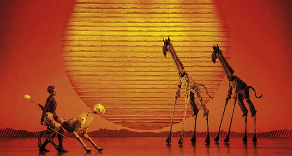 The Lion King celebrates 15 years of performances in the West End