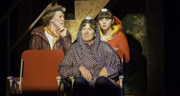This is my family at Lyceum Theatre, Sheffield.