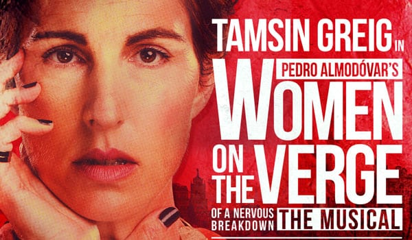 Women On The Verge Of A Nervous Breakdwon opens in December at the Playhouse Theatre