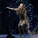 Nicole Scherzinger as Grizabella in Cats. Photo: Dan Wooller