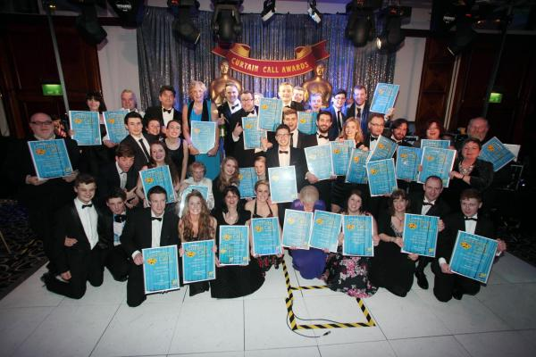 Southampton Daily Echo hosts the 2015 Curtain Call Awards celebrating amateur theatre