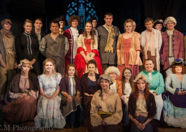 Photo: The cast of Frankenstein, performed by Kettering-based C&D Productions earlier this year. (Photo: SCM Photography/Sheny Charlotte Mete)