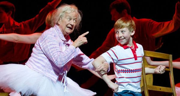 Ann Emery in Billy Elliot The Muiscal at the Victoria Palace Theatre.