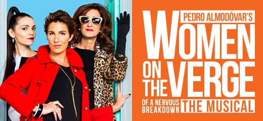 Women On The Verge Of A Nervous Breakdown at Playhouse Theatre