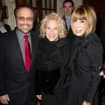 Barry Mann, Carole King and Cynthia Weill at the opening night of Beautiful in London