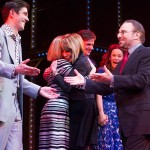 Ian McIntosh, Lorna Want, Cynthia Weil and Barry Mann at the opening night of Beautiful in London