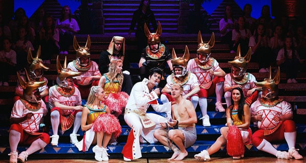 Joseph And The Amazing Technicolour Dreamcoat by Andrew Lloyd Webber and Tim Riceon tour in 2015 starring Matt Lapinskas and Lloyd Daniels.