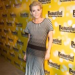 Michelle Collins at opening night of Beautiful in London