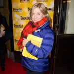 Victoria Wooller at opening night of Beautiful in London