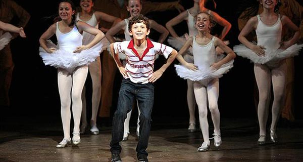Billy Elliot at the Victoria Palace Theatre London
