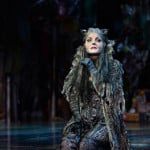 Kerry Ellis plays Grizabella in cats at the London Palladium