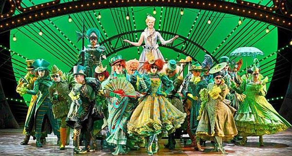 Wicked at the Apollo Victoria Theatre in London