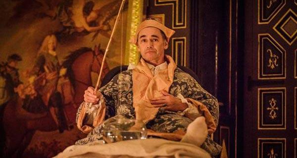 Mark Rylance in Farinelli at the Sam Wanamker Playhouse