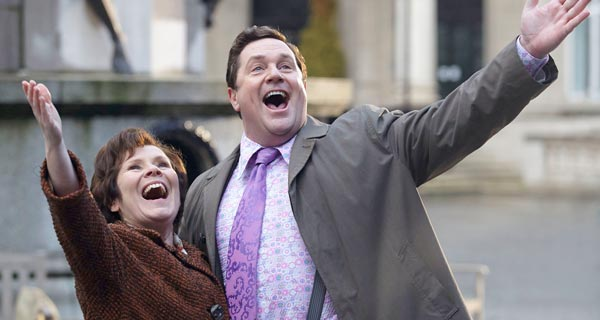 Imelda Staunton and Michael Ball in Victoria Woods The Day We Sang now on DVD