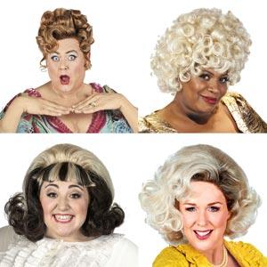 The ladies of Hairspray UK Tour 2015-16:- Tony Maudsley, Brenda Edwards, Freya Sutton and Claire Sweeney.