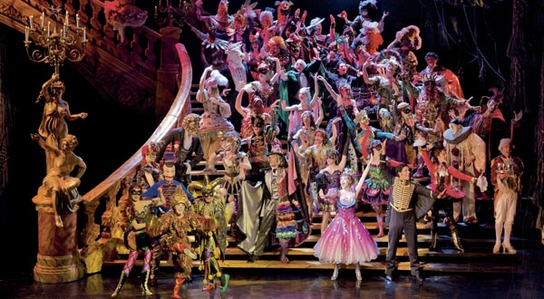 Andrew Lloyd Webber's The Phantom Of The Opera continues at Her Majesty's Theatre, London.