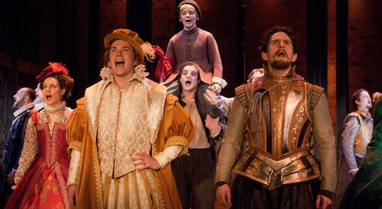The Company of The Shoemaker's Holiday at the RSC