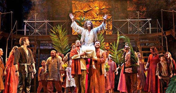 Jesus Christ Superstar on tour in the UK
