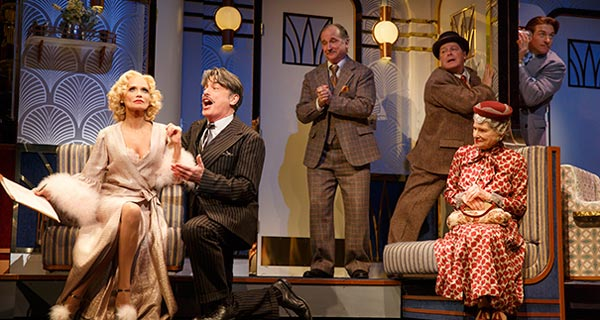 Kristen Chenoweth stars in On The Twentieth Century at the American Airlines Theatre