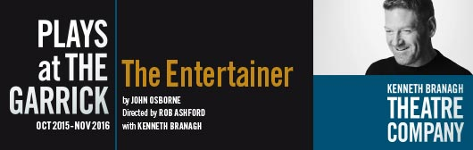 Kenneth Branagh stars in The Entertainer by John Osbourne at the Garrick Theatre