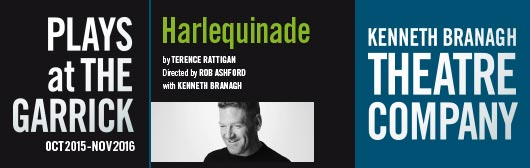 Harlequinade at The Garrick Theatre with Kenneth Branagh