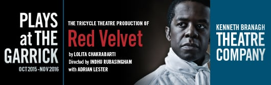 Red Velbet starring Adrian Lester, Kenneth Branagh Theatre Company