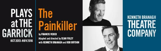 The Painkiller starring Rob Brydon and Kenneth Branagh at the Garrick Theatre