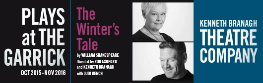 The Winters Tale with Judi Dench at the Garrick Theatre
