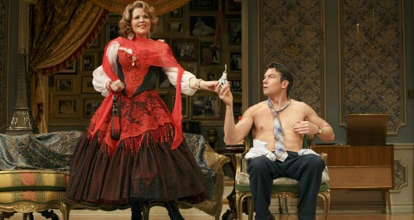 Living On Love at the Longacre Theatre, Broadway