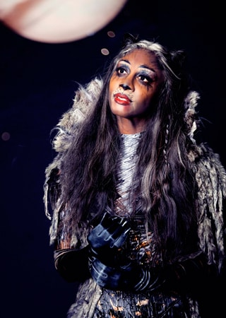 Beverley Knight as Grizabella in Cats at the London Palladium
