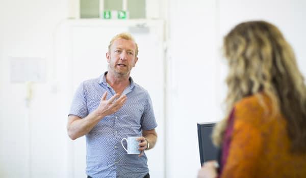 Steffan Rhodri in The Mentalists. Photo: Helen Maybanks
