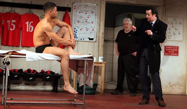 The Red Lion at the National's Dorfman Theatre