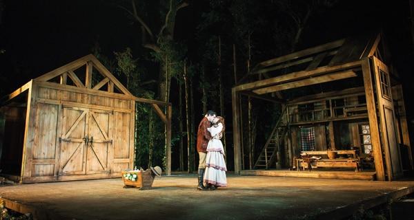 Seven Brides For Seven Brothers at Regent's Park Open Air Theatre