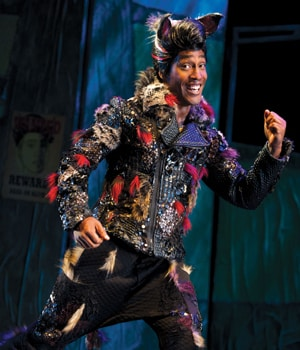 Simon Webbe plays The Big Bad Wolf in The Thre Little Pigs