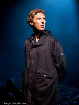 Benedict Cumbernatch as Hamlet