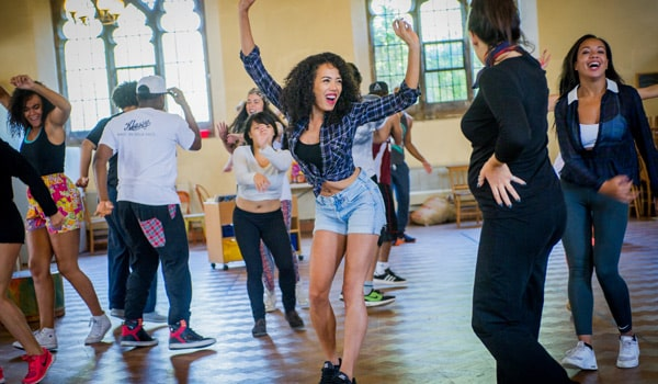 In The Heights at the King's Cross Theatre