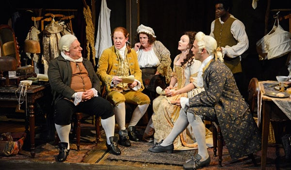 Mr Foote's Other Leg at Hampstead Theatre