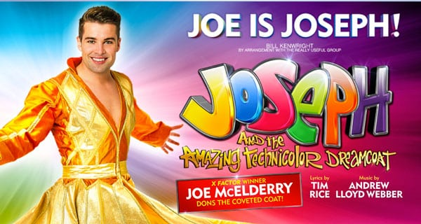 Joe McElderry stars in Joseph and the Amazing Technicolour Dreamcoat UK Tour 2016