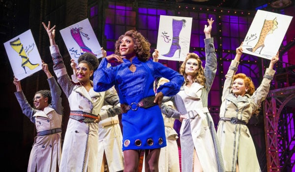 Kinky Boots at the Adelphi Theatre London