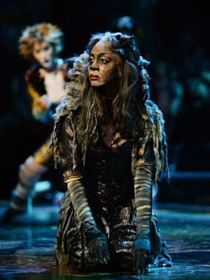 Cats at the London Palladium with Beverley Knight