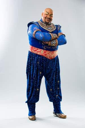 Trevor Dion Nicholas will play Genie in Aladdin at the Prince Edwards Theatre, London