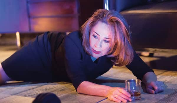 Zoe Wanamaker in All On Her Own at the Garrick Theatre